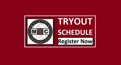 MVC Tryout Schedule and Registration - Updated!