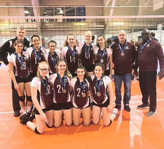 MVC 15U Vesuvius Silver Medalists at 15U Select - Provincial Cup