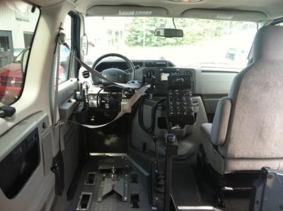 Quadriplegic who wants to drive...