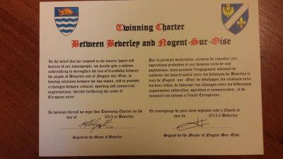 Twinning charter