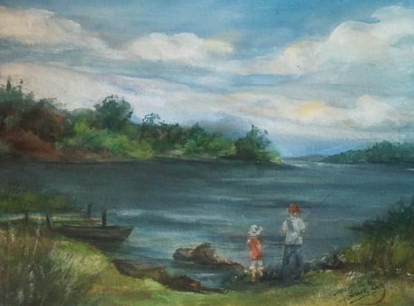 Fishing at Katonka State Park