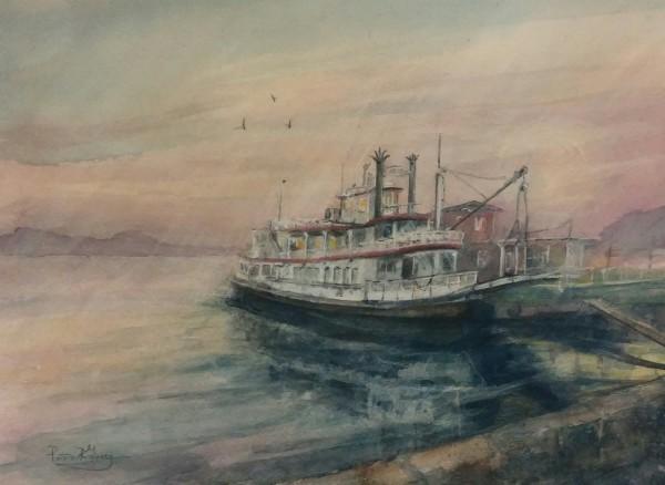 The Mark Twain Steamboat