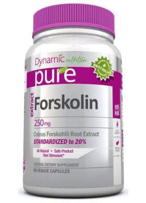 Forskolin Pure Coleus Forskohlii Root Standardized to 20% for Weight Loss  $18.45