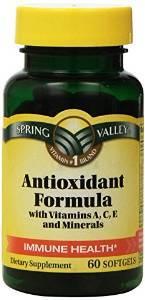 Advanced Antioxidant Formula Vegetable Capsules  $19.45