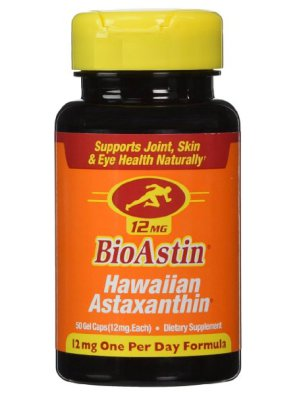 Hawaiian Astaxanthin, 50 Gel Caps 12mg  $21.65