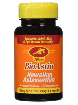 Hawaiian Astaxanthin, 50 Gel Caps 12mg  $21.65