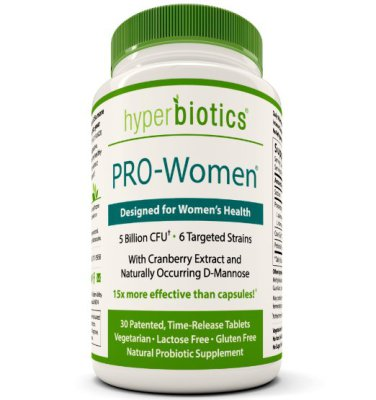 Probiotics for Women with Cranberry Extract 30 Tablets   $21.95