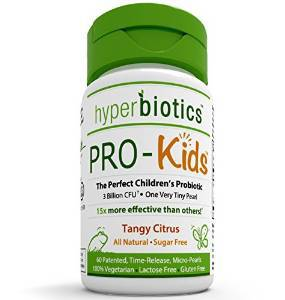 Children's Probiotics - 60 Tiny, Sugar Free, Once Daily, Time Release  $20.95