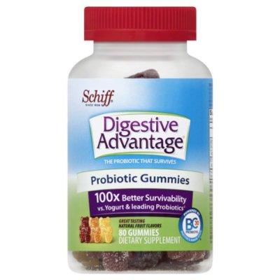 Schiff Digestive Advantage Probiotic Gummies, 120 Count  $29.87