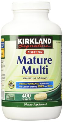 Mature Adult Multi Vitamin Tablets - 400 ct $14.75