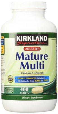 Mature Adult Multi Vitamin Tablets - 400 ct $14.75