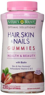 Nature's Bounty Hair Skin and Nails, 230 Gummies   $18.95