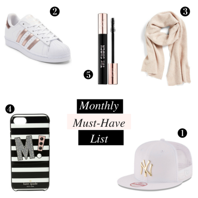 Monthly Must-Have List | February