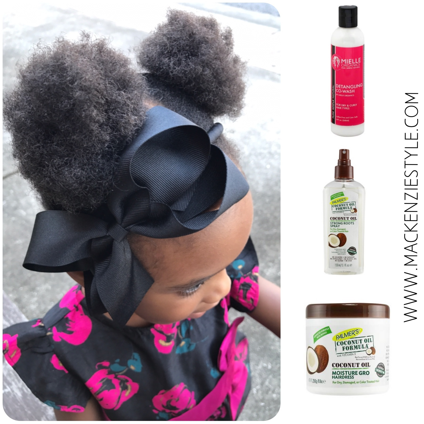 How I'm Learning To Manage My Daughter's 4C Hair