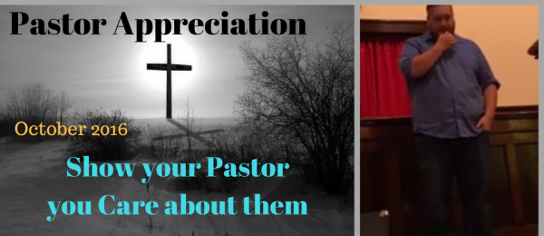 How to Show your Pastor you Appreciate Them!