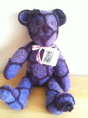 Carole Hall crochet bears