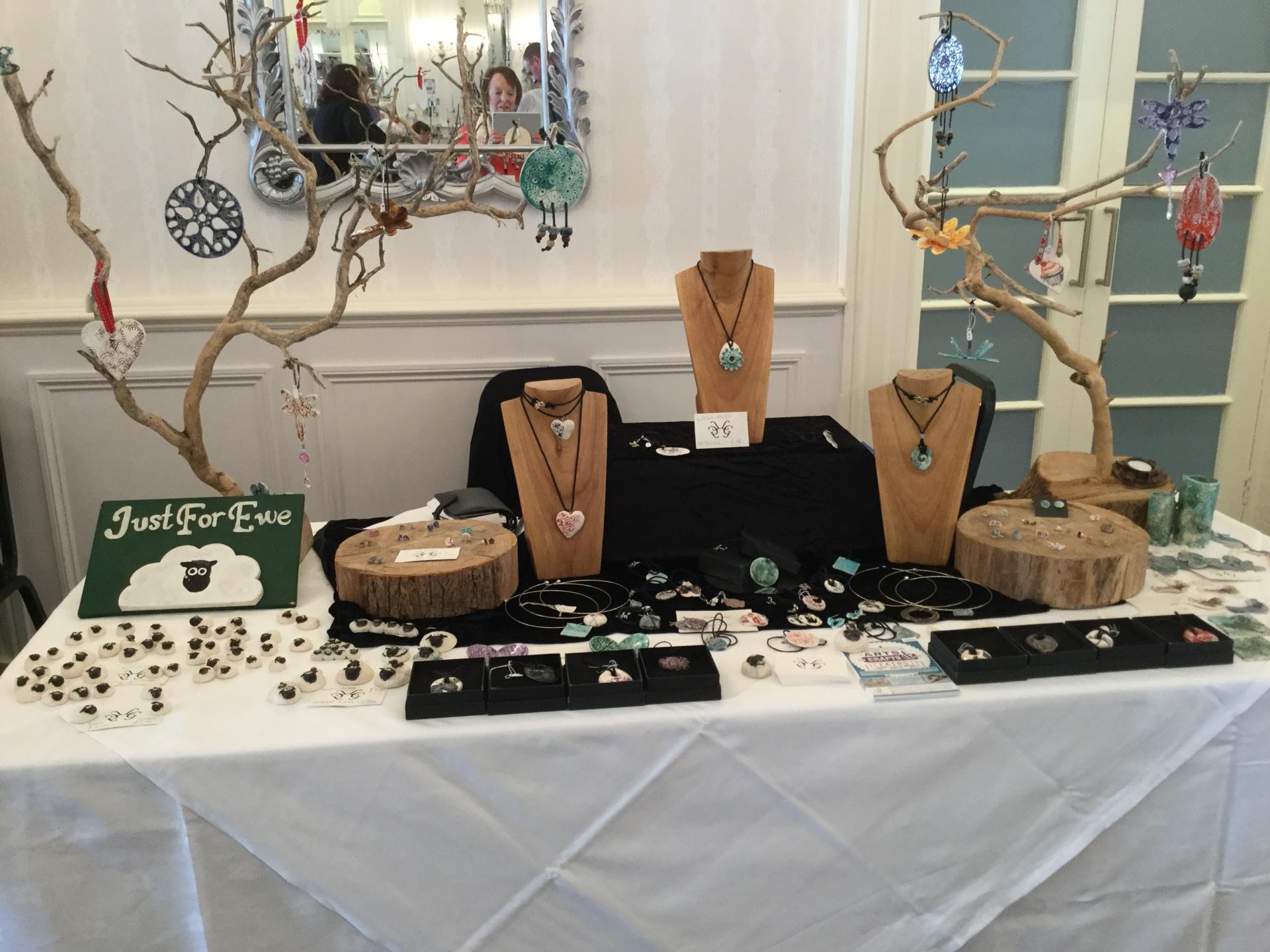 jewellery stall