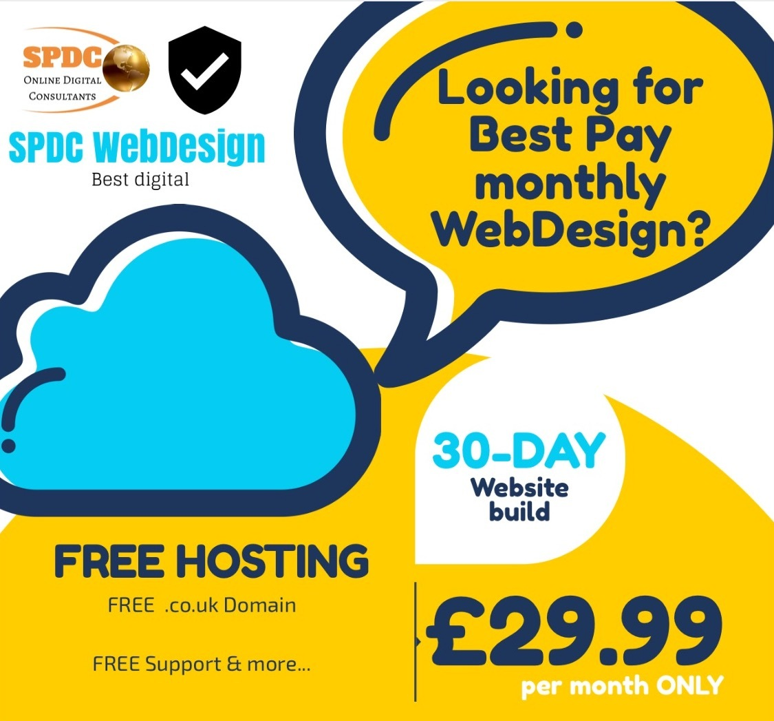 paymonthly webdesign and hosting