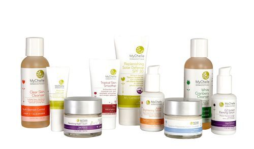 MyChelle; providing healthy products while being as eco friendly as possible.