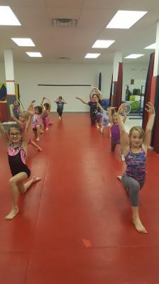 Intermediate guymnastics