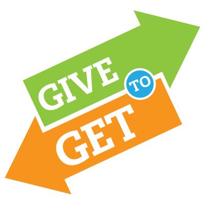 BE HAPPY--GIVE TO GET?