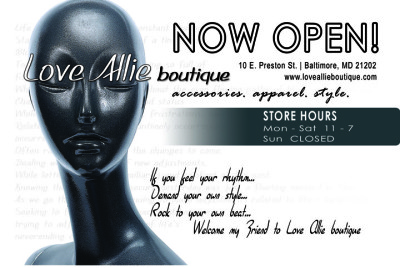 Flyer - Love Allie Boutique
