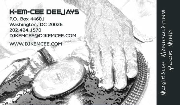Business Cards - K-Em-Cee Deejays