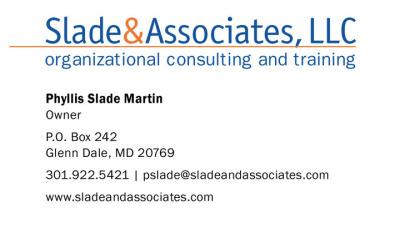 Business Cards - Slade & Associates