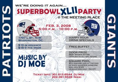 Flyer - DJ Moe Event