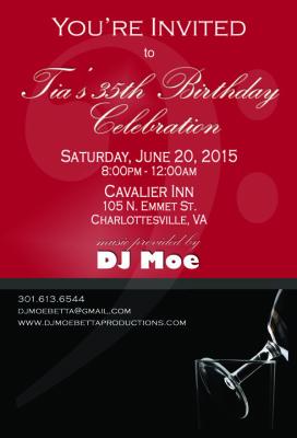 Invitation - DJ Moe
