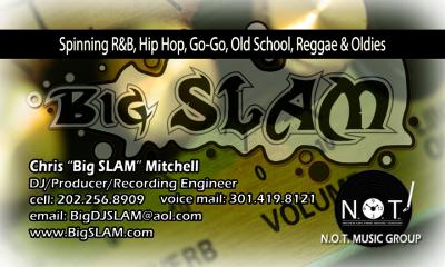 Business Cards - DJ Big Slam