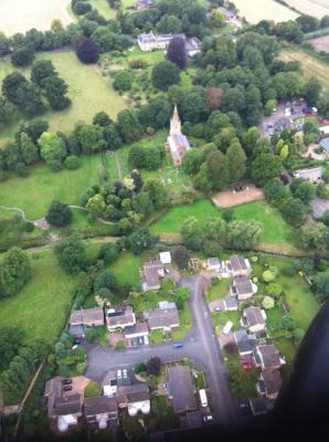 Bugbrooke from the Air - 1