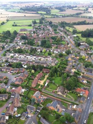 Bugbrooke From the Air - 2