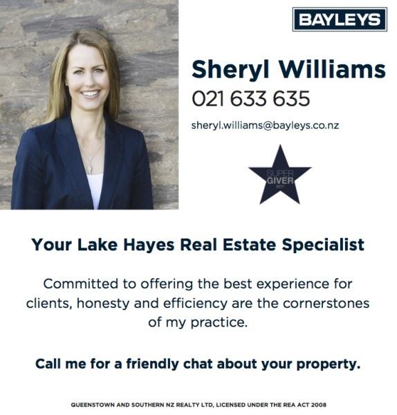 Lake Hayes Estate, Community, Association, Queenstown, Graze, McBride Park, Lake Hayes