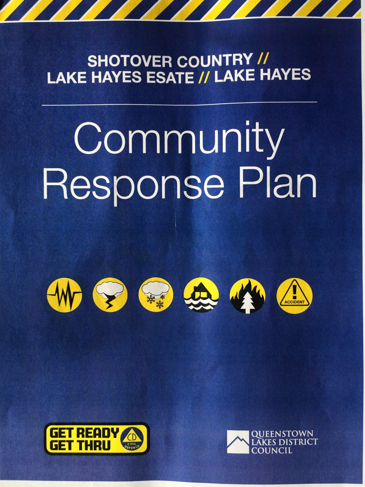 Shotover Country and Lake Hayes Estate Community Response Plan