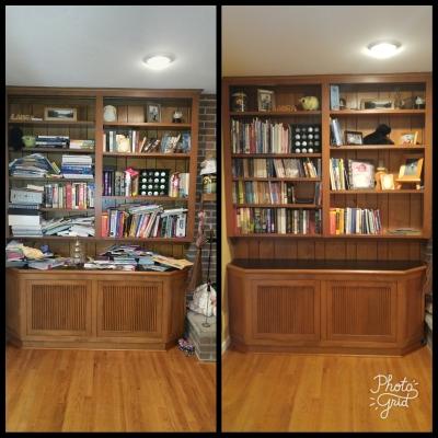 Living Area Bookcase