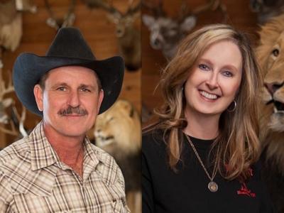 Mike Baird, Jo Baird, B&B Taxidermy, Texas Hunting, Texas Taxidermy, Texas Hunting Lodge, Texas Game Ranch