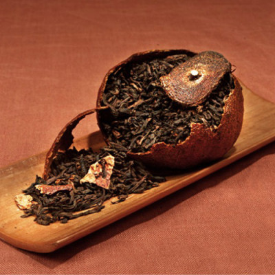 Tea Encylopedia:Orange Pu-erh Tea
