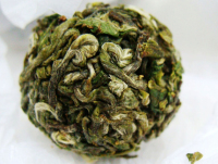 green tea, sliver ball tea