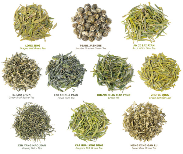 Gourmet Tea Selections in the Tea of The Month Club