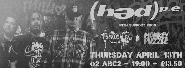 Hed PE - Glasgow's O2 Academy ABC - Live review