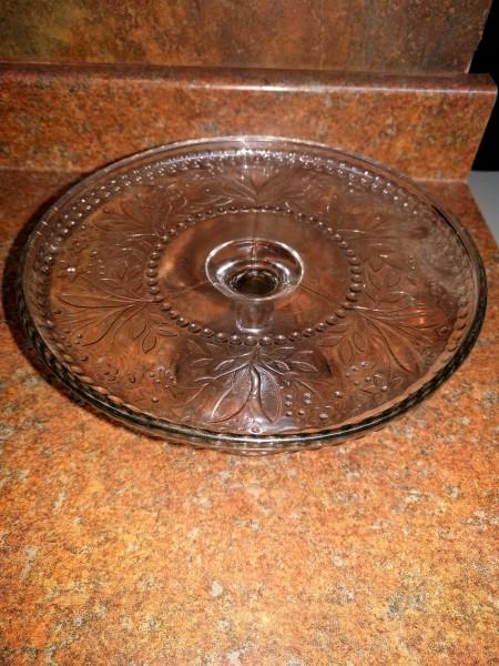 Starflower Nova Scotia Glass Cake Server