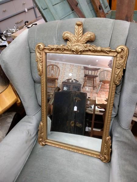 Antique Quilded Mirror
