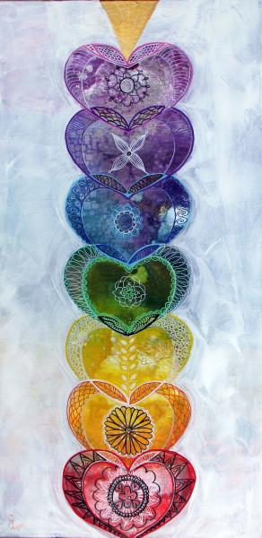 Chakra Balancing Hearts