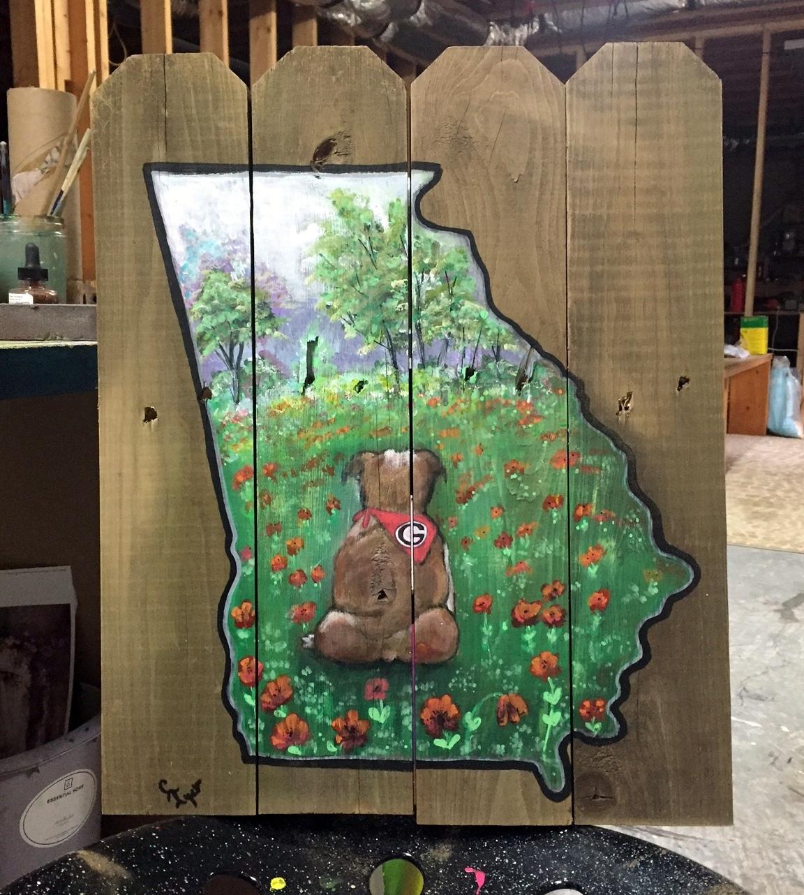 UGA Art, UGA wall decor