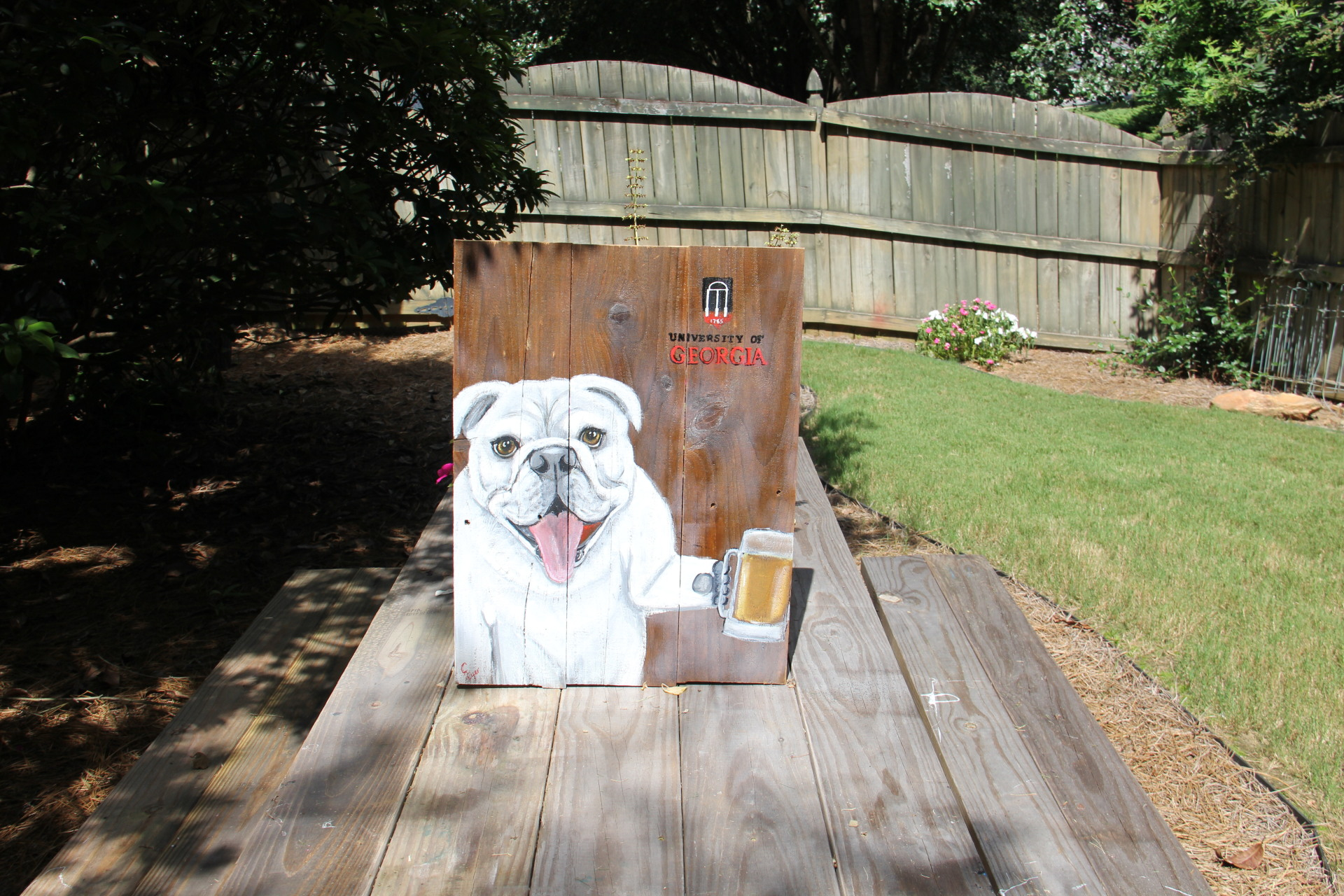 Georgia bulldog UGA