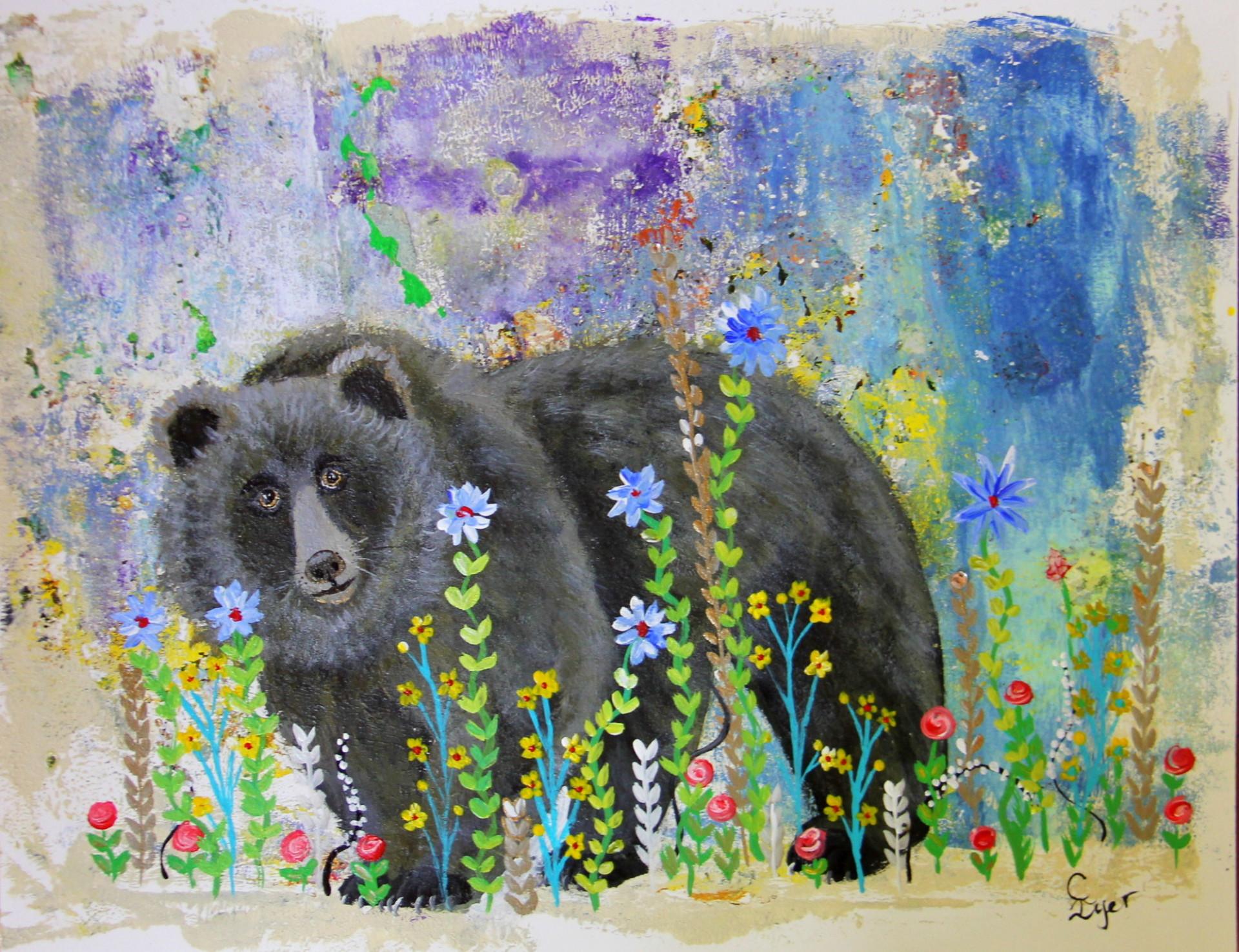 Bear in Garden