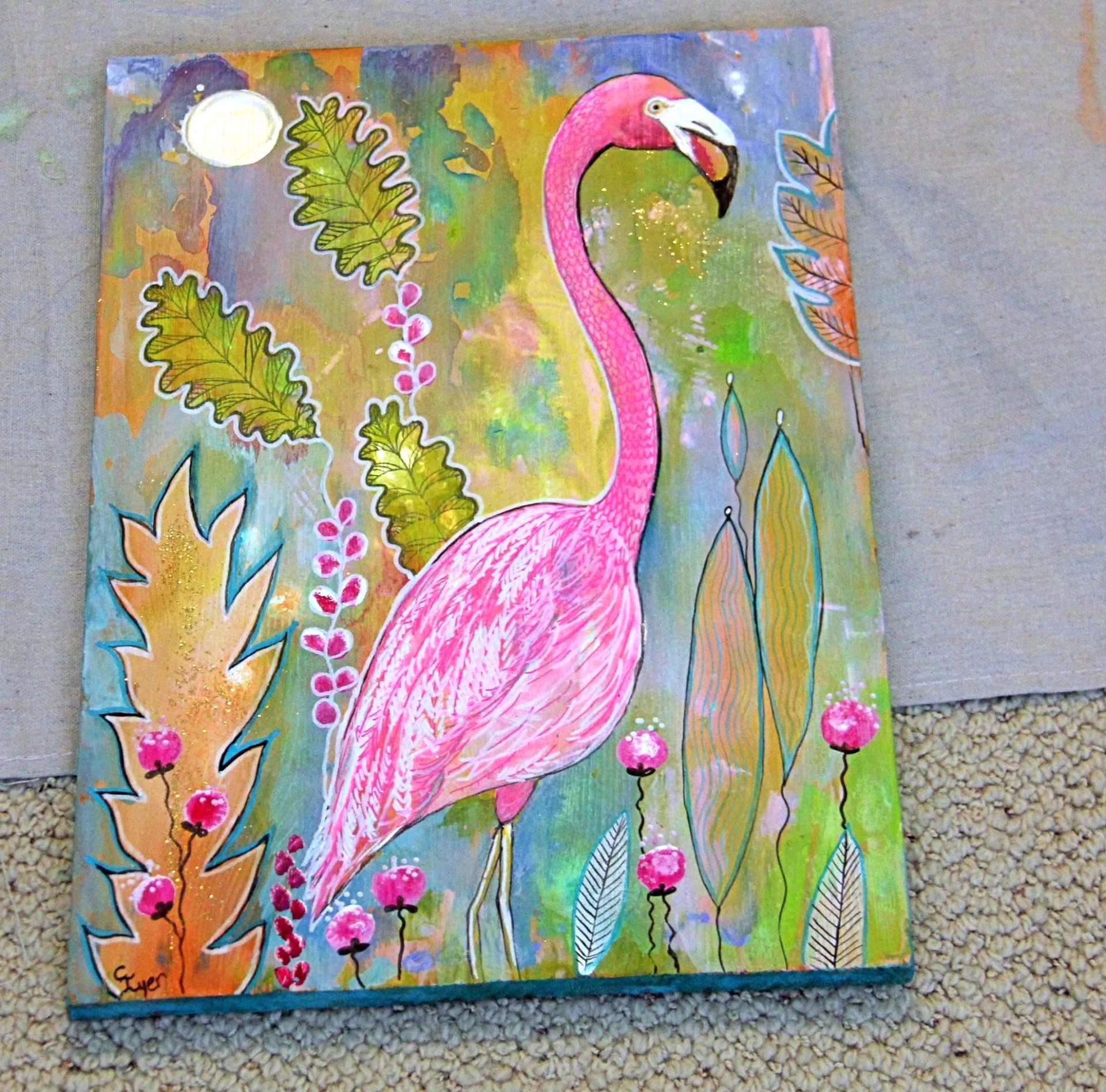Pink Flamingo Intuitive