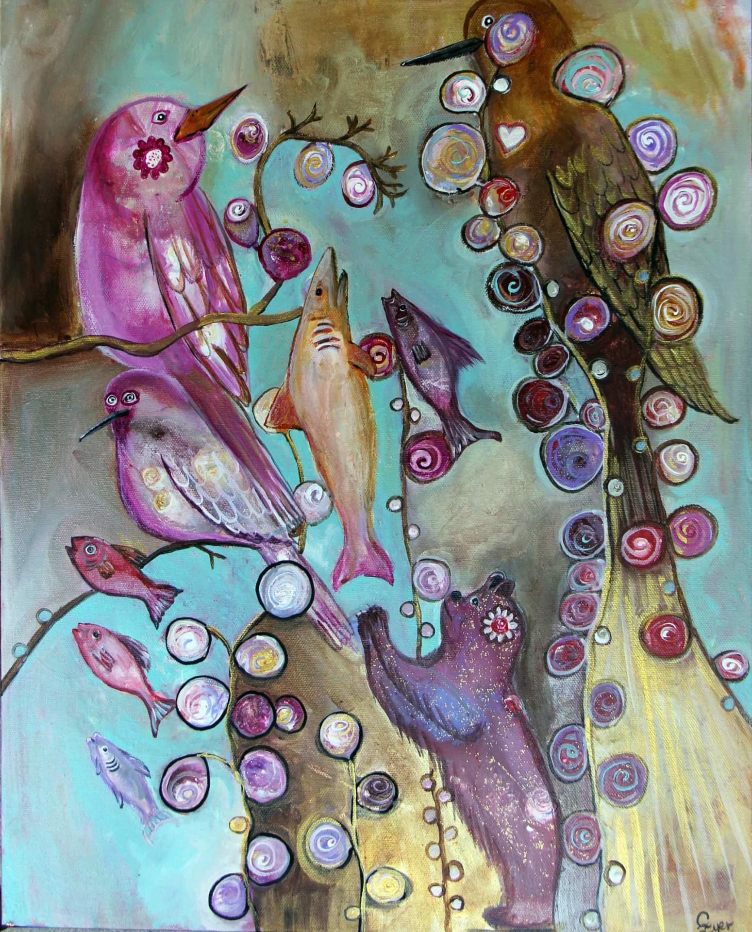 Birds, Bears and Fish