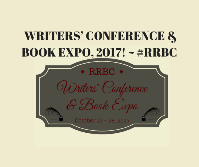 #RRBC 2017 Writers' Conference